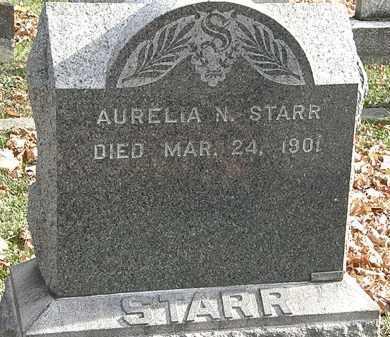 STARR, AURELIA N. - Erie County, Ohio   AURELIA N. STARR - Ohio Gravestone Photos
