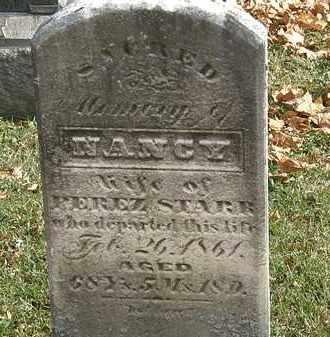 STARR, NANCY - Erie County, Ohio | NANCY STARR - Ohio Gravestone Photos