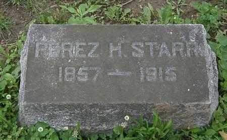 STARR, PEREZ H. - Erie County, Ohio | PEREZ H. STARR - Ohio Gravestone Photos