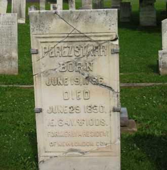 STARR, PEREZ - Erie County, Ohio | PEREZ STARR - Ohio Gravestone Photos