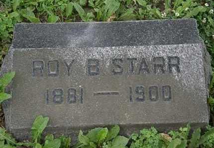 STARR, ROY B. - Erie County, Ohio   ROY B. STARR - Ohio Gravestone Photos