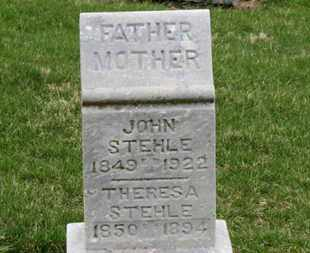 STEHLE, JOHN - Erie County, Ohio | JOHN STEHLE - Ohio Gravestone Photos