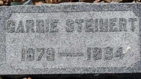 STEINERT, CARRIE - Erie County, Ohio   CARRIE STEINERT - Ohio Gravestone Photos