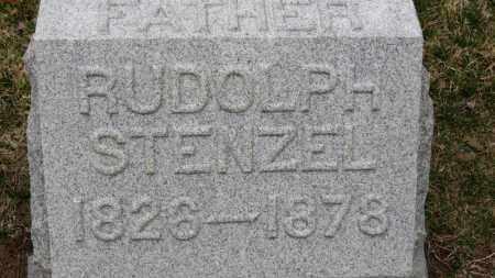 STENZEL, RUDOLPH - Erie County, Ohio | RUDOLPH STENZEL - Ohio Gravestone Photos