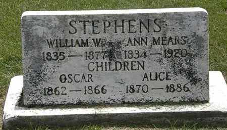 STEPHENS, ANN - Erie County, Ohio | ANN STEPHENS - Ohio Gravestone Photos