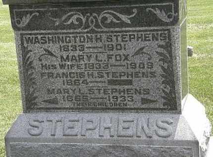 STEPHENS, FRANCIS H. - Erie County, Ohio   FRANCIS H. STEPHENS - Ohio Gravestone Photos
