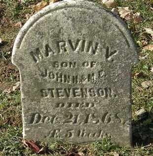 STEVENSON, MARVIN V. - Erie County, Ohio | MARVIN V. STEVENSON - Ohio Gravestone Photos