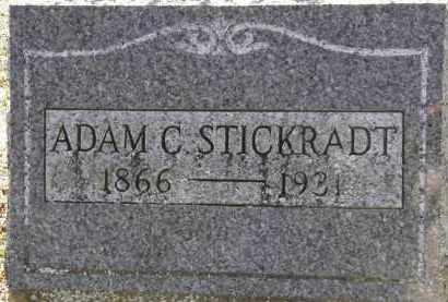 STICKRADT, ADAM C. - Erie County, Ohio | ADAM C. STICKRADT - Ohio Gravestone Photos