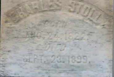 STOLL, CHARLES - Erie County, Ohio | CHARLES STOLL - Ohio Gravestone Photos