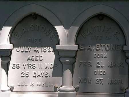 STONE, HATTIE E. - Erie County, Ohio | HATTIE E. STONE - Ohio Gravestone Photos