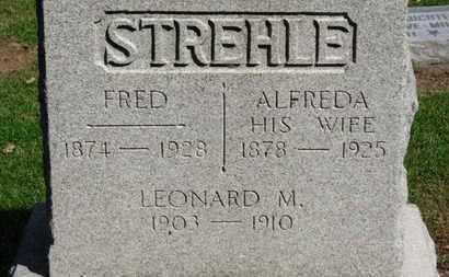 STREHLE, FRED - Erie County, Ohio | FRED STREHLE - Ohio Gravestone Photos