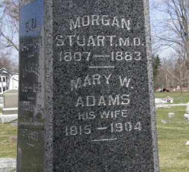 STUART, MARY W. - Erie County, Ohio | MARY W. STUART - Ohio Gravestone Photos