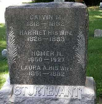 STURTEVANT, LAURA A. - Erie County, Ohio | LAURA A. STURTEVANT - Ohio Gravestone Photos