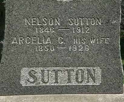 SUTTON, ARCELIA C. - Erie County, Ohio | ARCELIA C. SUTTON - Ohio Gravestone Photos