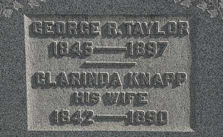 TAYLOR, GEORGE R. - Erie County, Ohio | GEORGE R. TAYLOR - Ohio Gravestone Photos