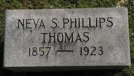PHILLIPS THOMAS, NEVA S. - Erie County, Ohio | NEVA S. PHILLIPS THOMAS - Ohio Gravestone Photos