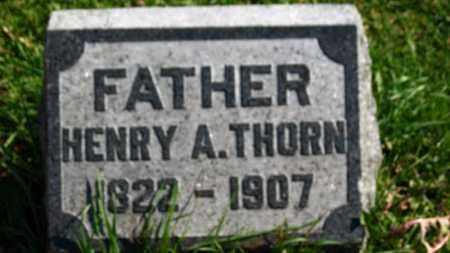 THORN, HENRY A. - Erie County, Ohio   HENRY A. THORN - Ohio Gravestone Photos