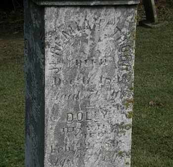 THORP, DOLLY - Erie County, Ohio | DOLLY THORP - Ohio Gravestone Photos