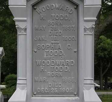 TODD, WOODWARD H. - Erie County, Ohio | WOODWARD H. TODD - Ohio Gravestone Photos