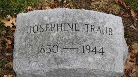 TRAUB, JOSEPHINE - Erie County, Ohio   JOSEPHINE TRAUB - Ohio Gravestone Photos