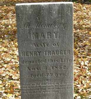TRAUGER, HENRY - Erie County, Ohio | HENRY TRAUGER - Ohio Gravestone Photos