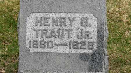 TRAUT JR., HENRY G. - Erie County, Ohio | HENRY G. TRAUT JR. - Ohio Gravestone Photos