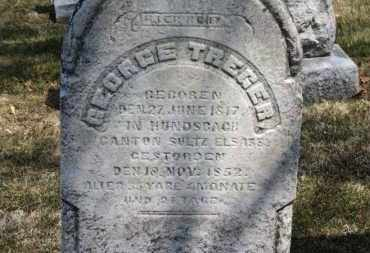 TREGER, GEORGE - Erie County, Ohio   GEORGE TREGER - Ohio Gravestone Photos