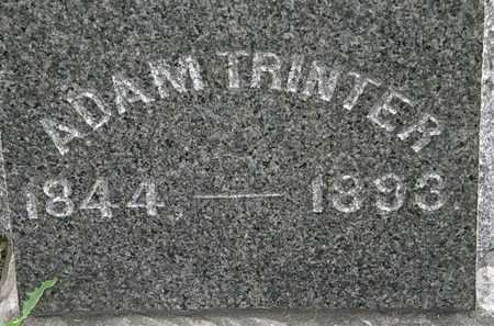 TRINTER, ADAM - Erie County, Ohio | ADAM TRINTER - Ohio Gravestone Photos