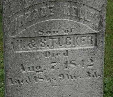 TUCKER, HORACE KELLY - Erie County, Ohio | HORACE KELLY TUCKER - Ohio Gravestone Photos