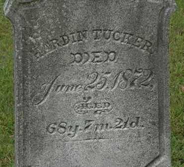 TUCKER, HARDIN - Erie County, Ohio | HARDIN TUCKER - Ohio Gravestone Photos