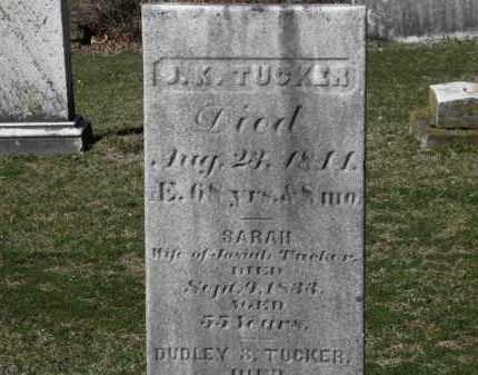 TUCKER, SARAH - Erie County, Ohio   SARAH TUCKER - Ohio Gravestone Photos
