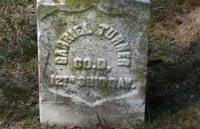 TURNER, GABRIEL - Erie County, Ohio   GABRIEL TURNER - Ohio Gravestone Photos