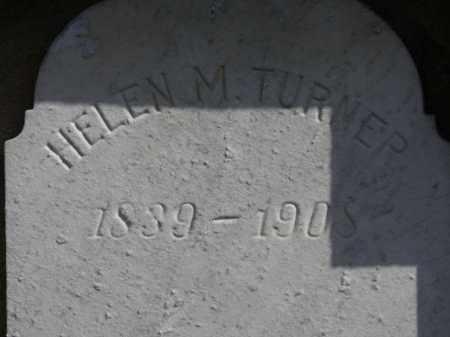 TURNER, HELEN M. - Erie County, Ohio   HELEN M. TURNER - Ohio Gravestone Photos