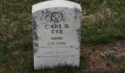 TYE, CARL E. - Erie County, Ohio | CARL E. TYE - Ohio Gravestone Photos