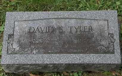 TYLER, DAVID S. - Erie County, Ohio | DAVID S. TYLER - Ohio Gravestone Photos
