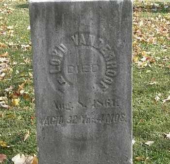 VANDERHOOF, LOYD - Erie County, Ohio | LOYD VANDERHOOF - Ohio Gravestone Photos