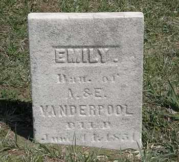 VANDERPOOL, E. - Erie County, Ohio | E. VANDERPOOL - Ohio Gravestone Photos
