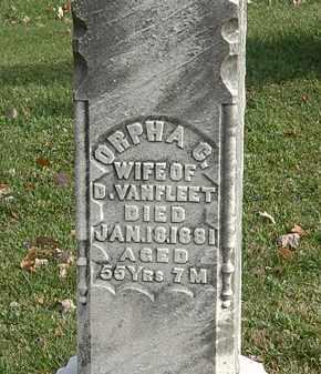 VANFLEET, ORPHA C. - Erie County, Ohio | ORPHA C. VANFLEET - Ohio Gravestone Photos