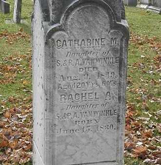 VANWINKLE, RACHEL A. - Erie County, Ohio | RACHEL A. VANWINKLE - Ohio Gravestone Photos