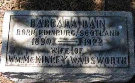 WADSWORTH, WM. MCKINLEY - Erie County, Ohio | WM. MCKINLEY WADSWORTH - Ohio Gravestone Photos