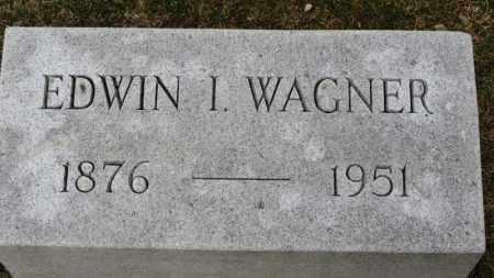 WAGNER, EDWIN I. - Erie County, Ohio | EDWIN I. WAGNER - Ohio Gravestone Photos