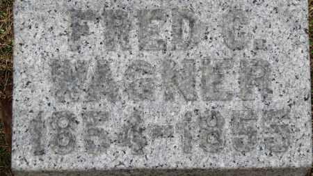 WAGNER, FRED C. - Erie County, Ohio | FRED C. WAGNER - Ohio Gravestone Photos