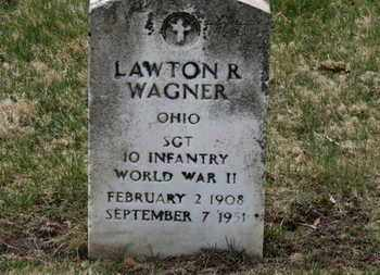 WAGNER, LAWTON R. - Erie County, Ohio | LAWTON R. WAGNER - Ohio Gravestone Photos