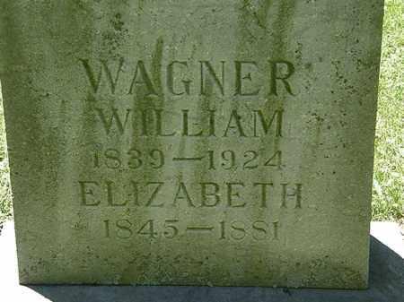 WAGNER, WILLIAM - Erie County, Ohio | WILLIAM WAGNER - Ohio Gravestone Photos