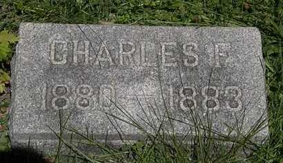 WAHL, CHARLES F. - Erie County, Ohio   CHARLES F. WAHL - Ohio Gravestone Photos