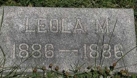 WAHL, LEOLA M. - Erie County, Ohio | LEOLA M. WAHL - Ohio Gravestone Photos