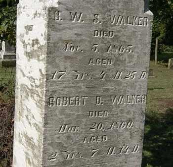 WALKER, ROBERT D. - Erie County, Ohio | ROBERT D. WALKER - Ohio Gravestone Photos