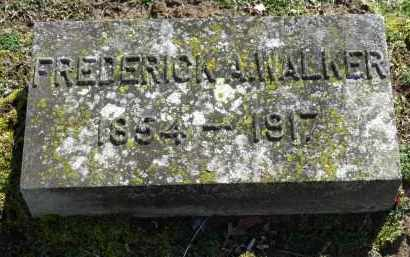 WALKER, FREDERICK A. - Erie County, Ohio | FREDERICK A. WALKER - Ohio Gravestone Photos