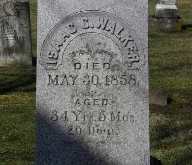 WALKER, ISAAC C. - Erie County, Ohio | ISAAC C. WALKER - Ohio Gravestone Photos