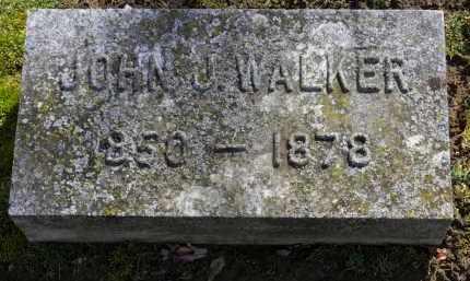WALKER, JOHN J. - Erie County, Ohio   JOHN J. WALKER - Ohio Gravestone Photos